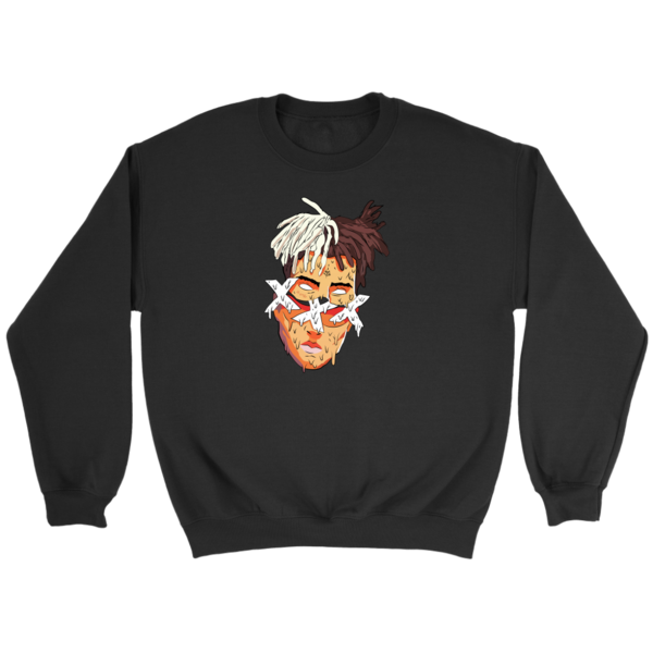 Xxxtentacion face crewneck in. Lil yachty hair png clip art black and white library