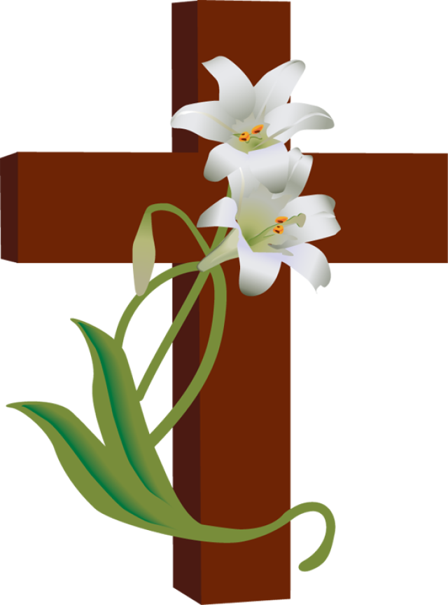 Lilies clipart bereavement. Easter activities for