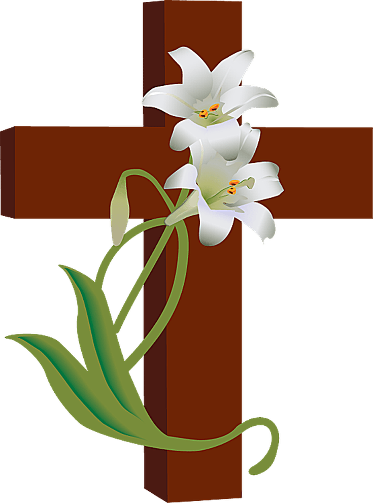 Easter cross clipart png. Activities for primary