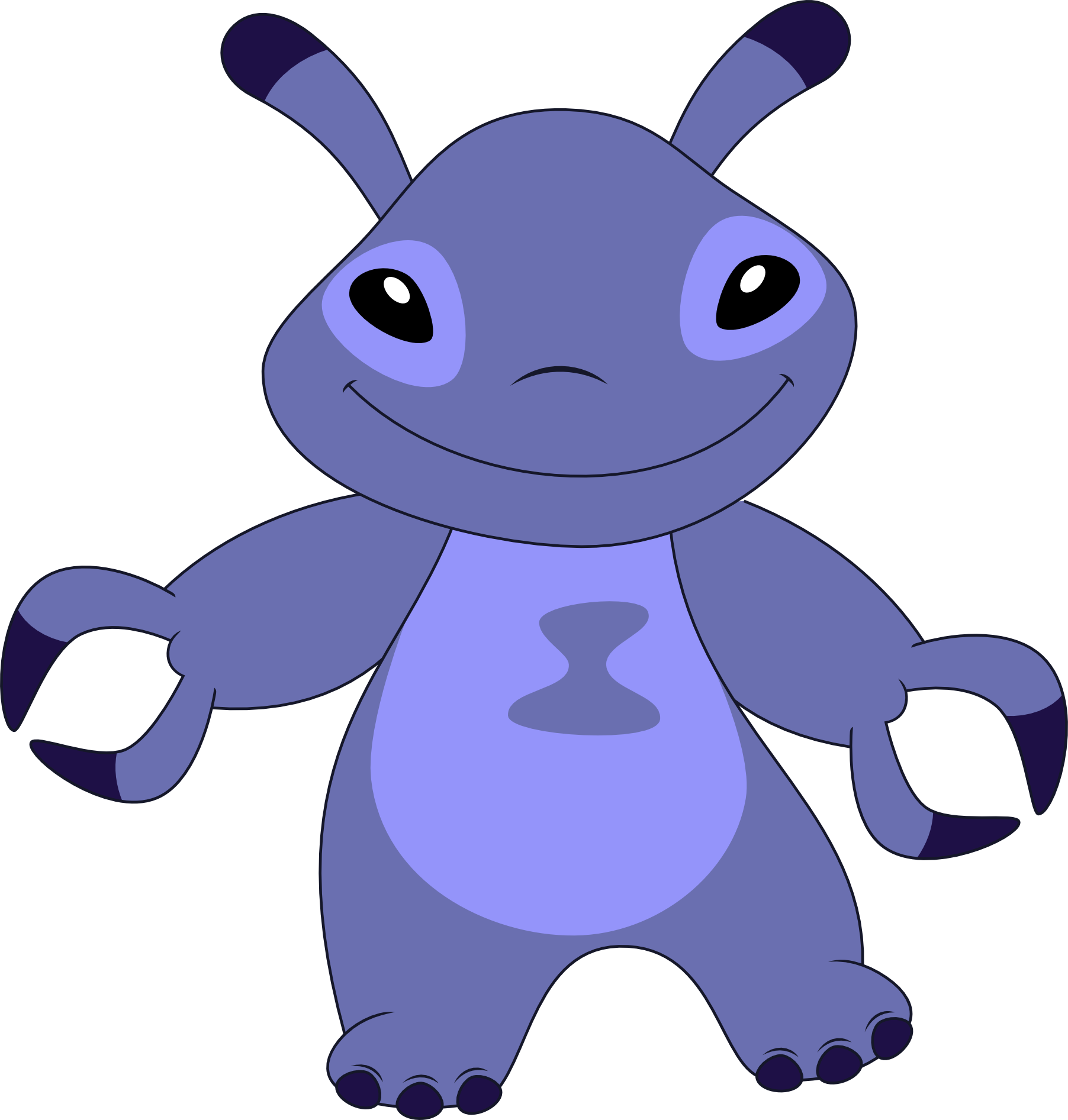 Lilo and stitch characters png. Image vialet by kaylathehedgehog