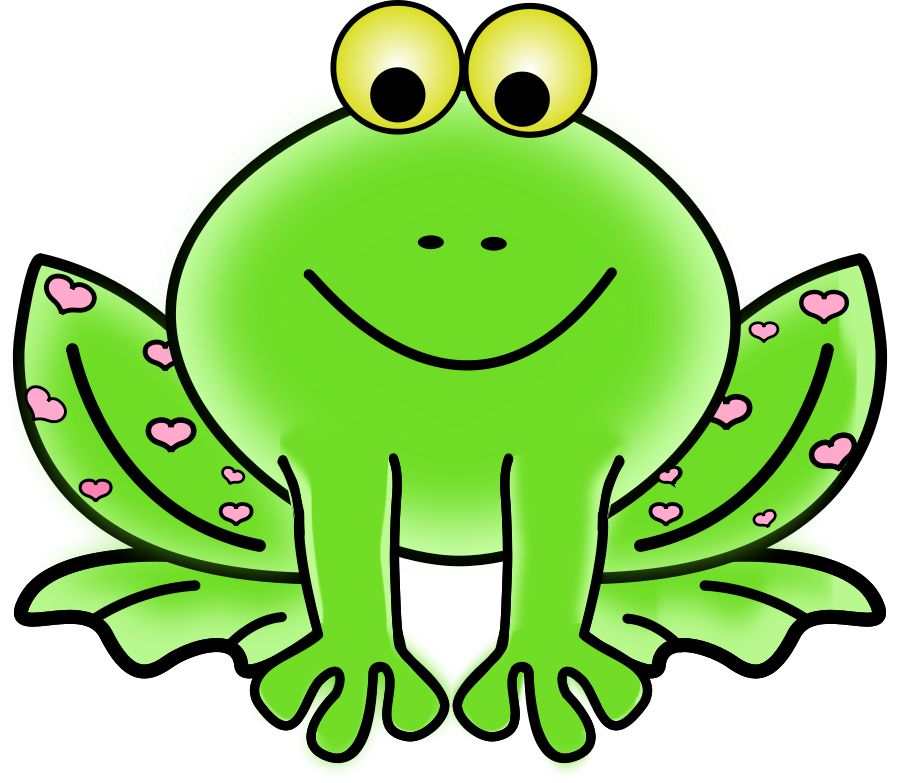 Drawing frogs colour. Lily pad clipart at