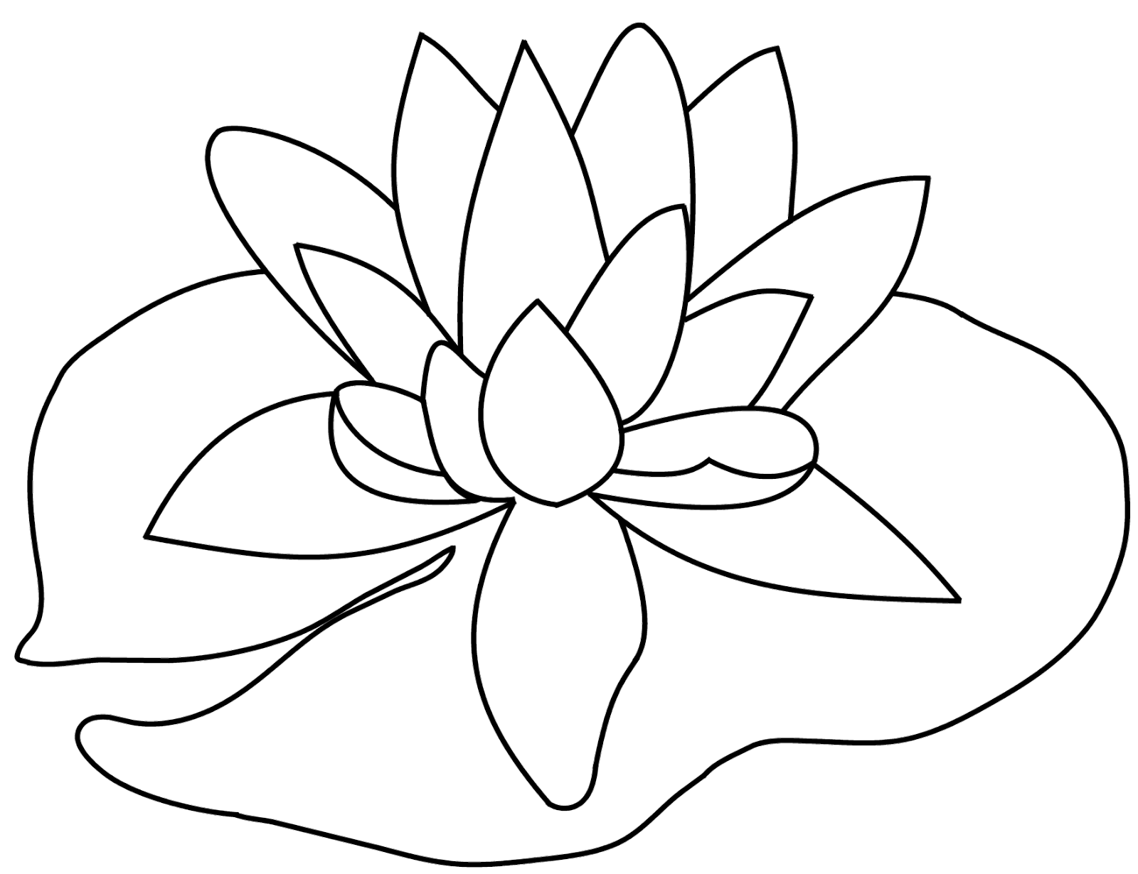 At getdrawings com free. Lilypad drawing image freeuse library