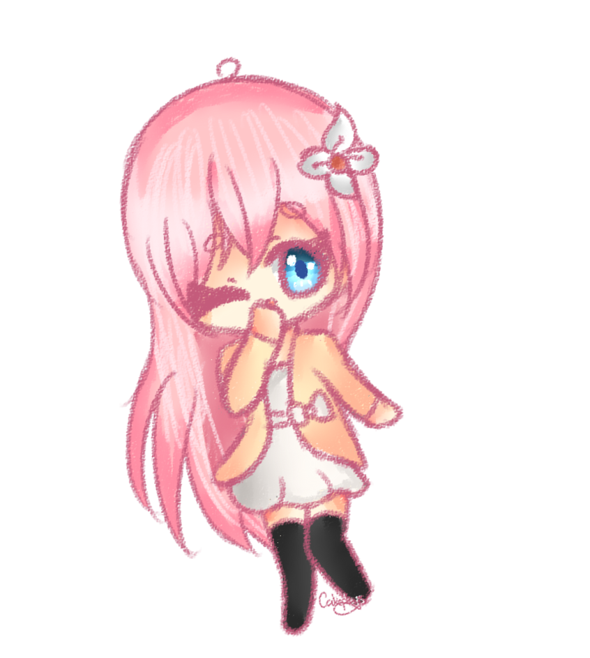 lilypichu drawing transparent