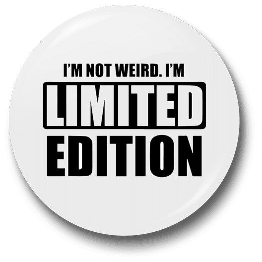 Limited edition badge png. Badges juststickers