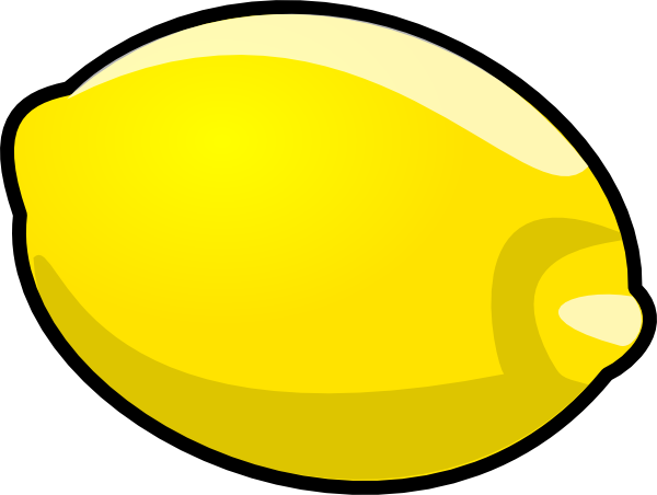 Drawing lemons vector. Lemon stencil clip art