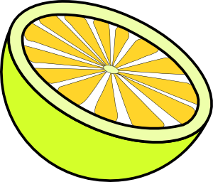 Limon vector lemon wedge. Cut clip art at