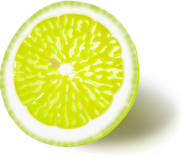 Limon vector yellow lemon. Clip art at clker