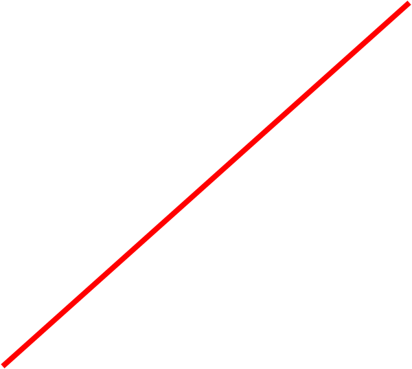 Red line png. Image with transparent background