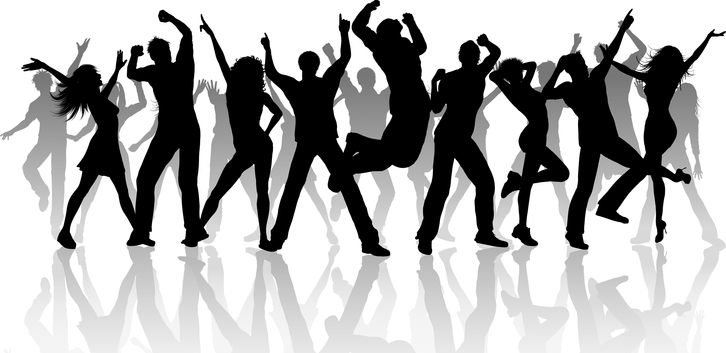Line dance png. Party and social with