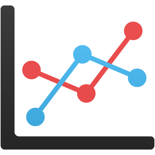 Line graph icon png. Chart flatastic iconset custom