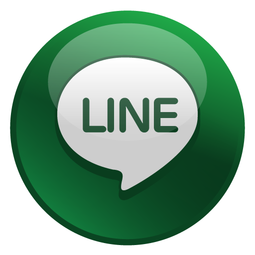 Line icon png. Glossy social iconset media