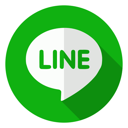 Line logo png. Icon transparent svg vector