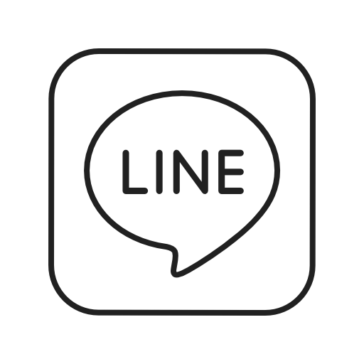 Line icon png. Free of social media