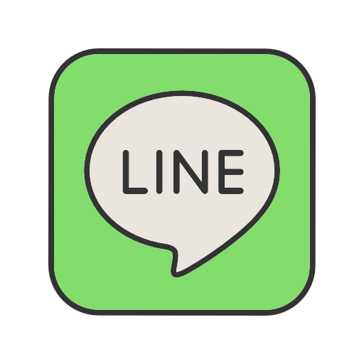 Line logo png. Icon free of social