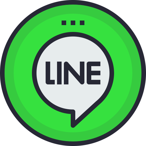 Line png icons. Icon free of social