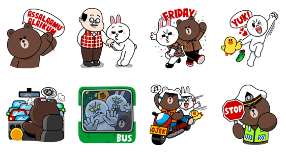 Line stickers png. Charge credit and get