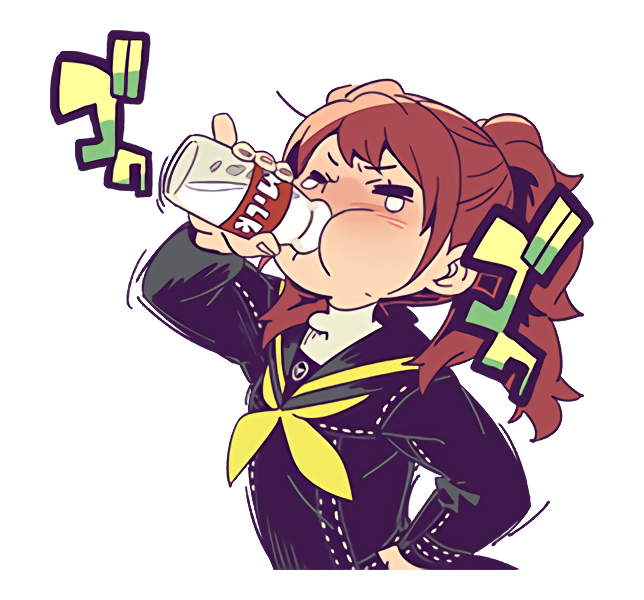 Stickers transparent anime. Image psc official line