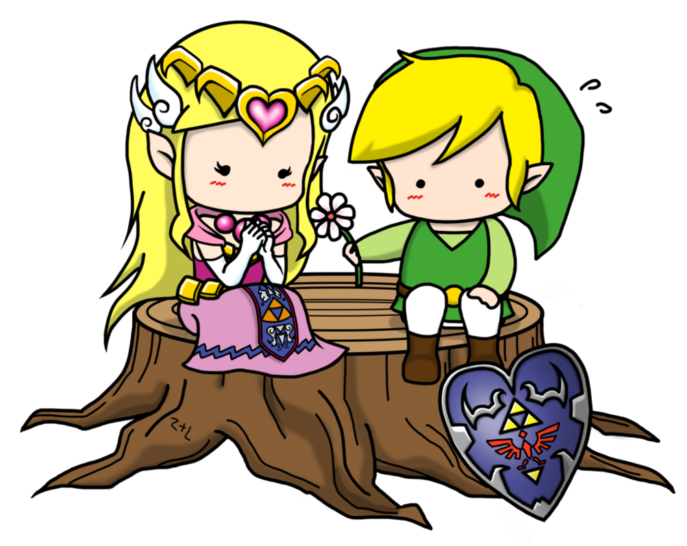 Link and zelda png. X by nipponolife on