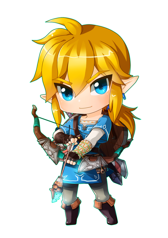 Link botw png. By rdanys the legend
