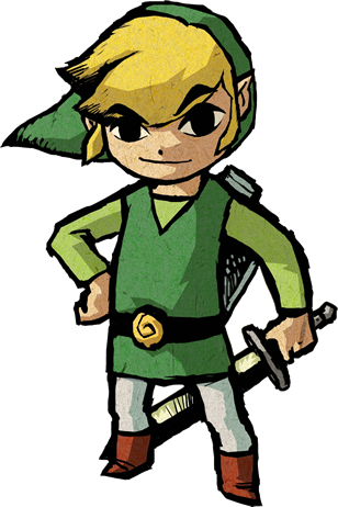 Link .png. Pinterest wind waker video