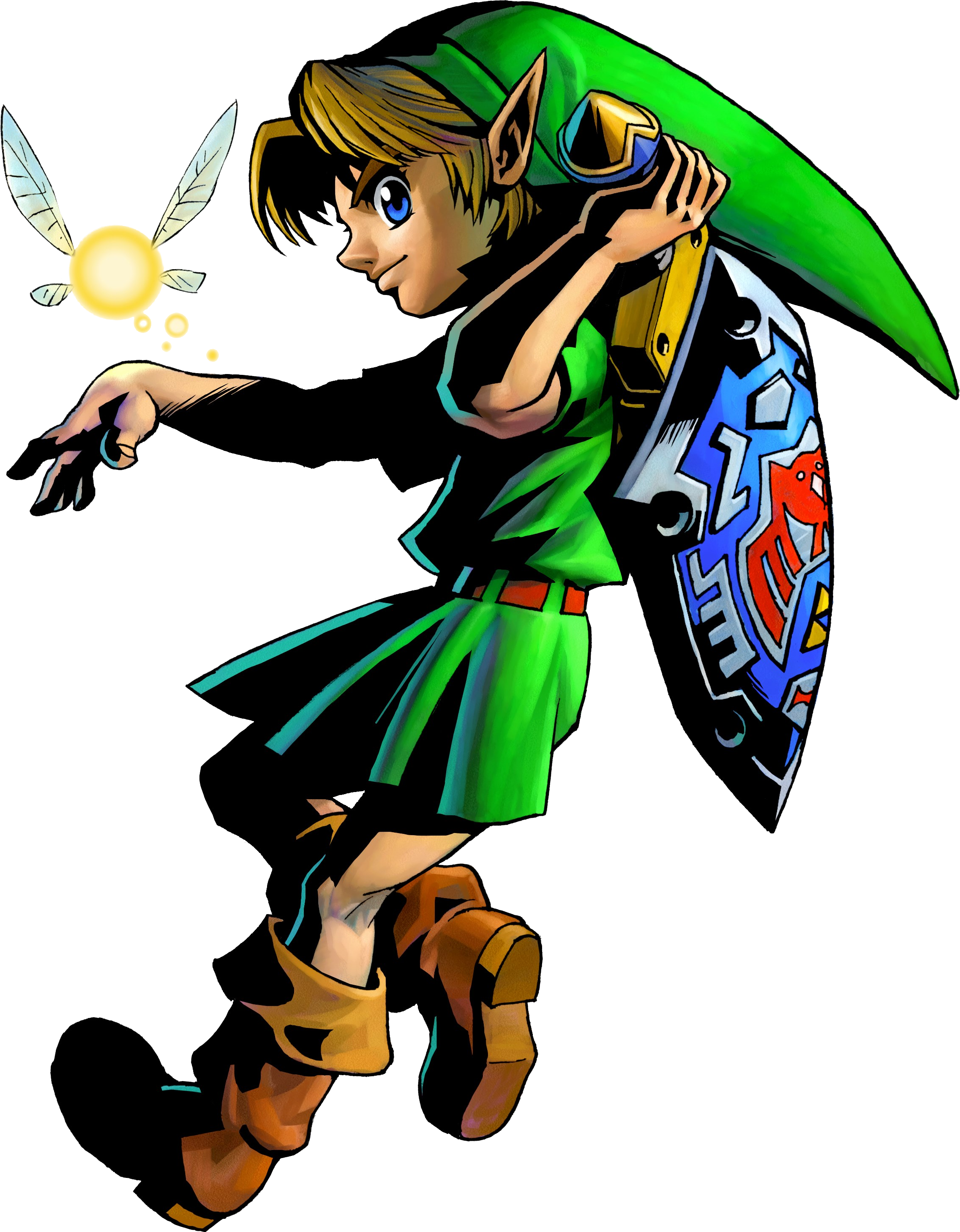 Transparent link child. Png images in collection