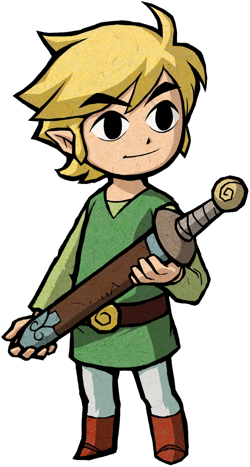 Link png. Image artwork the minish