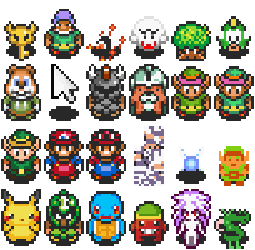 Link to the past sprite png. Alttp vt randomizer options