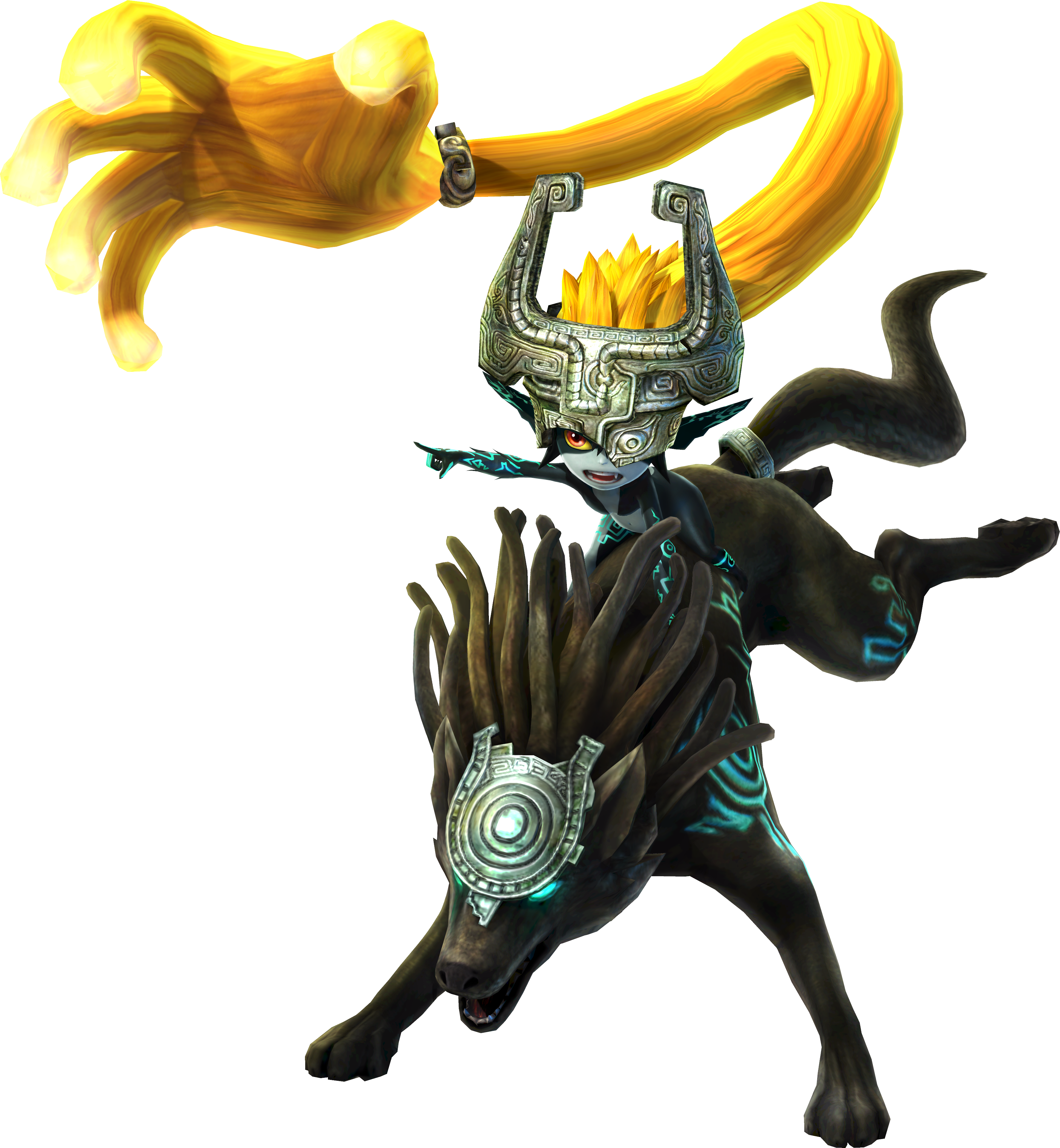 midna drawing hyrule warriors