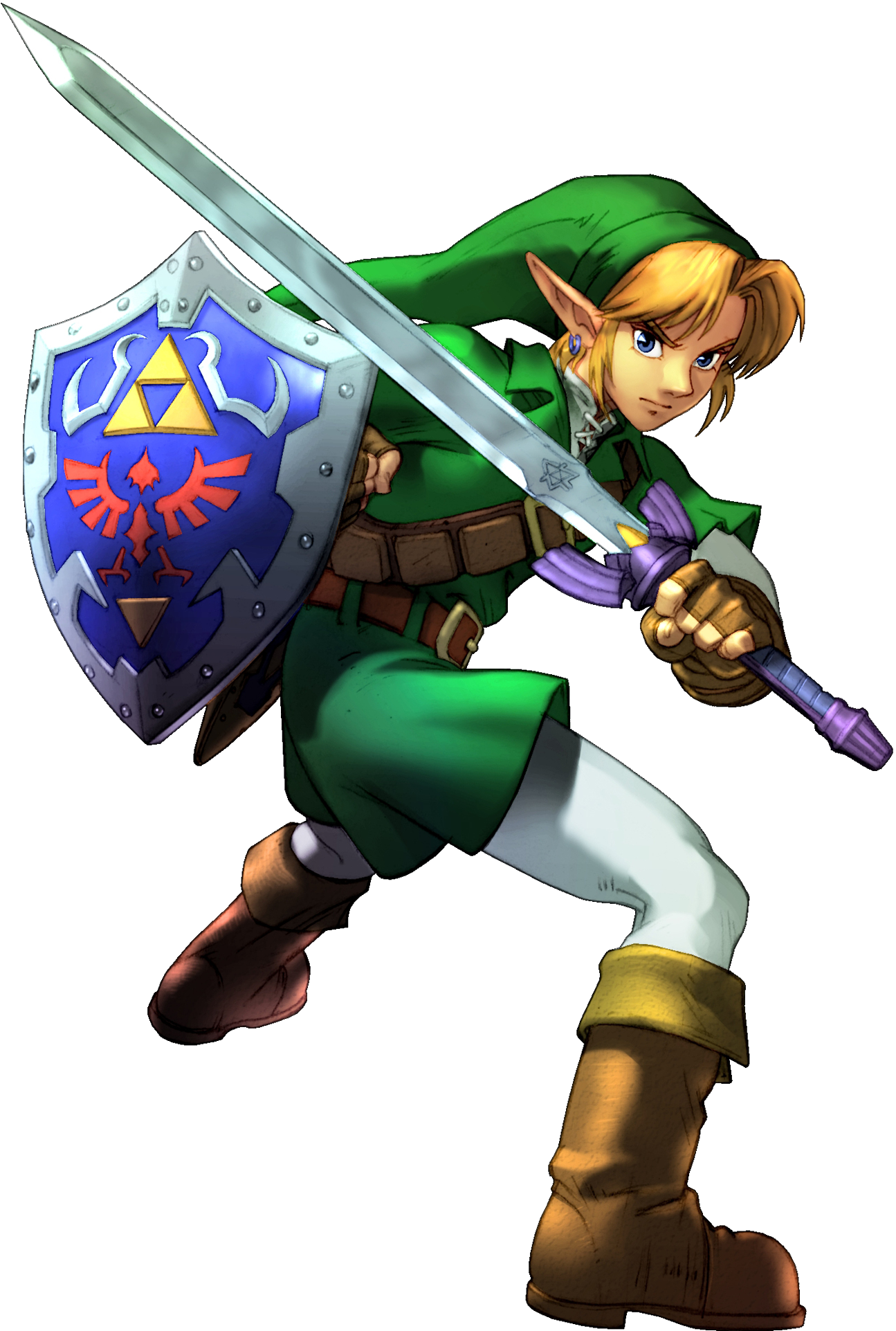transparent zelda battle