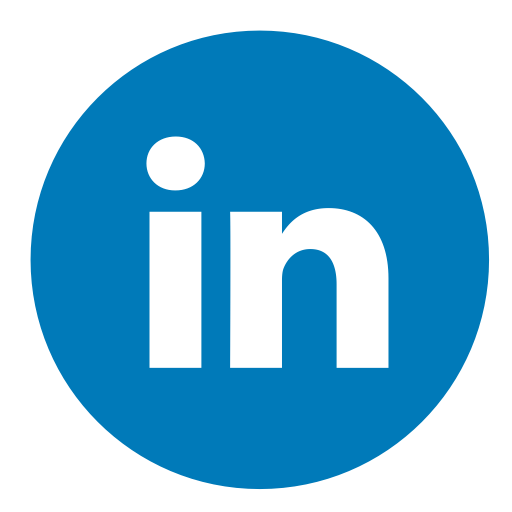 Linkedin icon png circle. Color size