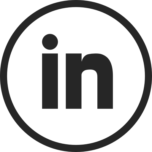 Linkedin Transparent Circle Picture 1428844 Linkedin Icon