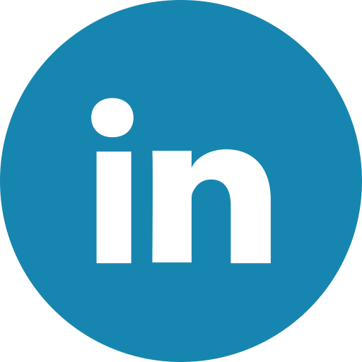 Linkedin icon png circle. Social media icons the