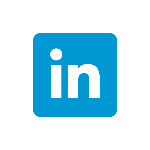 Linkedin transparent symbol. Icons for free icon