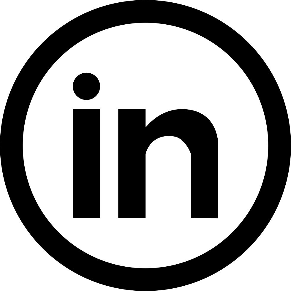 White Linkedin Icon Png Picture 703253 Linkedin Icon Png Black