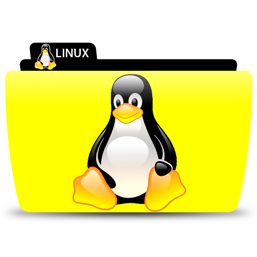 Folder file icon free. Linux penguin logo png picture black and white download