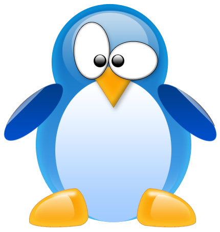 Tux the by hello. Linux penguin logo png clip art freeuse