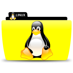 Linux penguin png. Icon colorflow iconset tribalmarkings