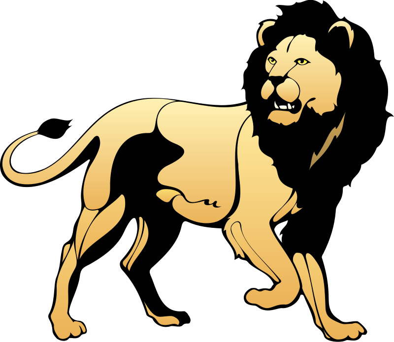Lion clip african. And lamb png