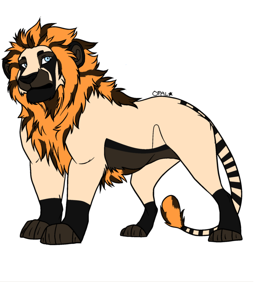Lion clip males. Male adoptable closed by