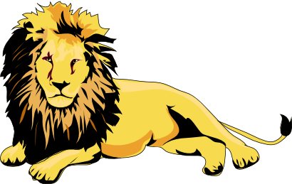 This male art is. Lion clip males vector free download