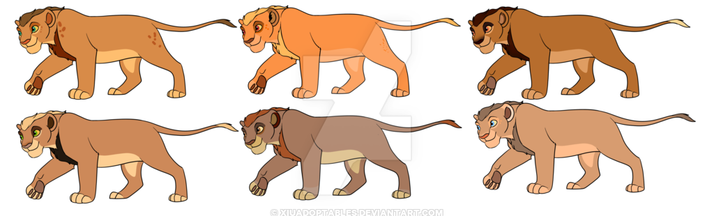 Lion clip males. Teen male adopts closed