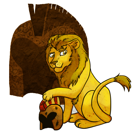 Lion clip nemean. By felinemyth on deviantart