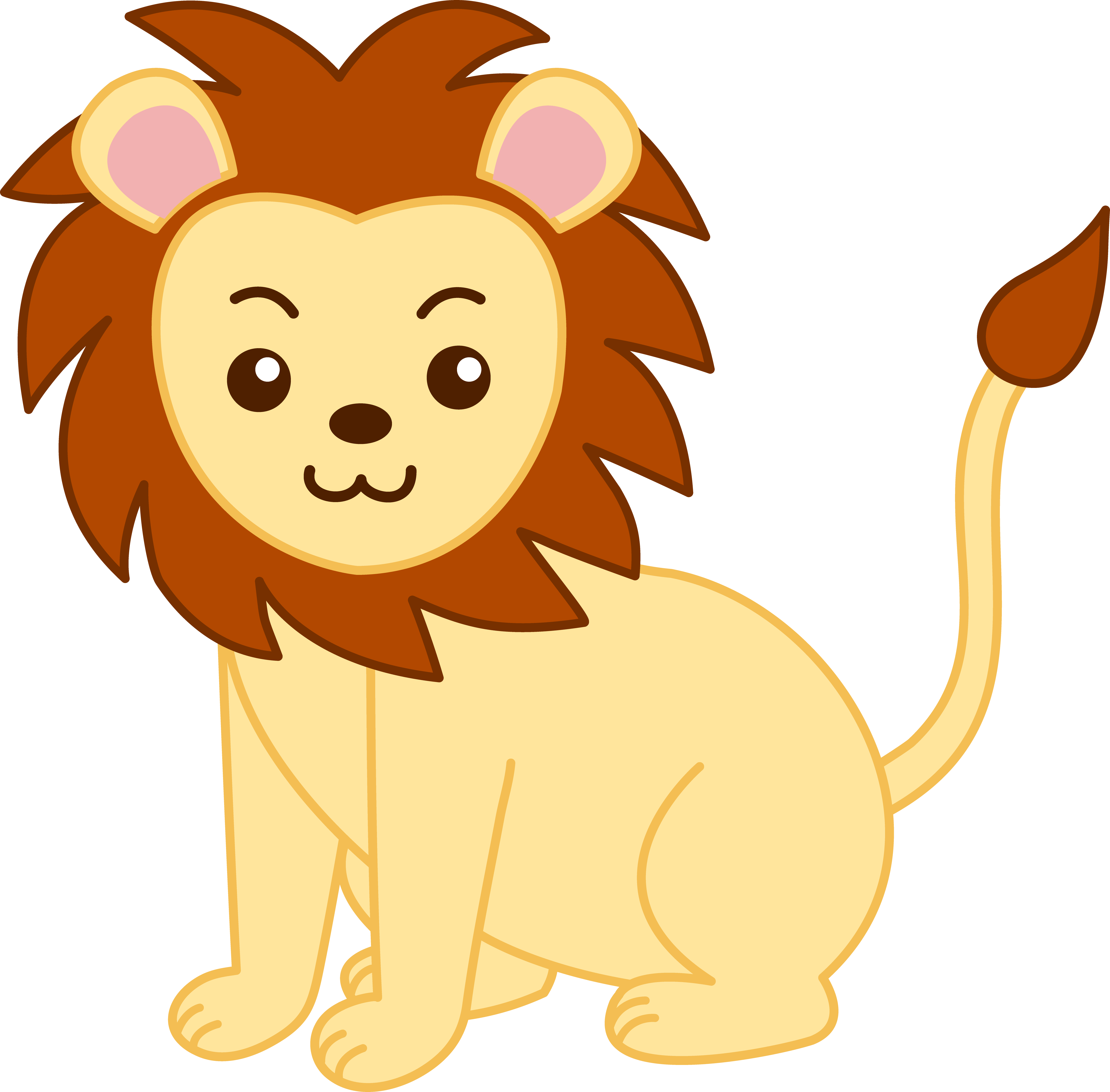 drawing lions angry lion