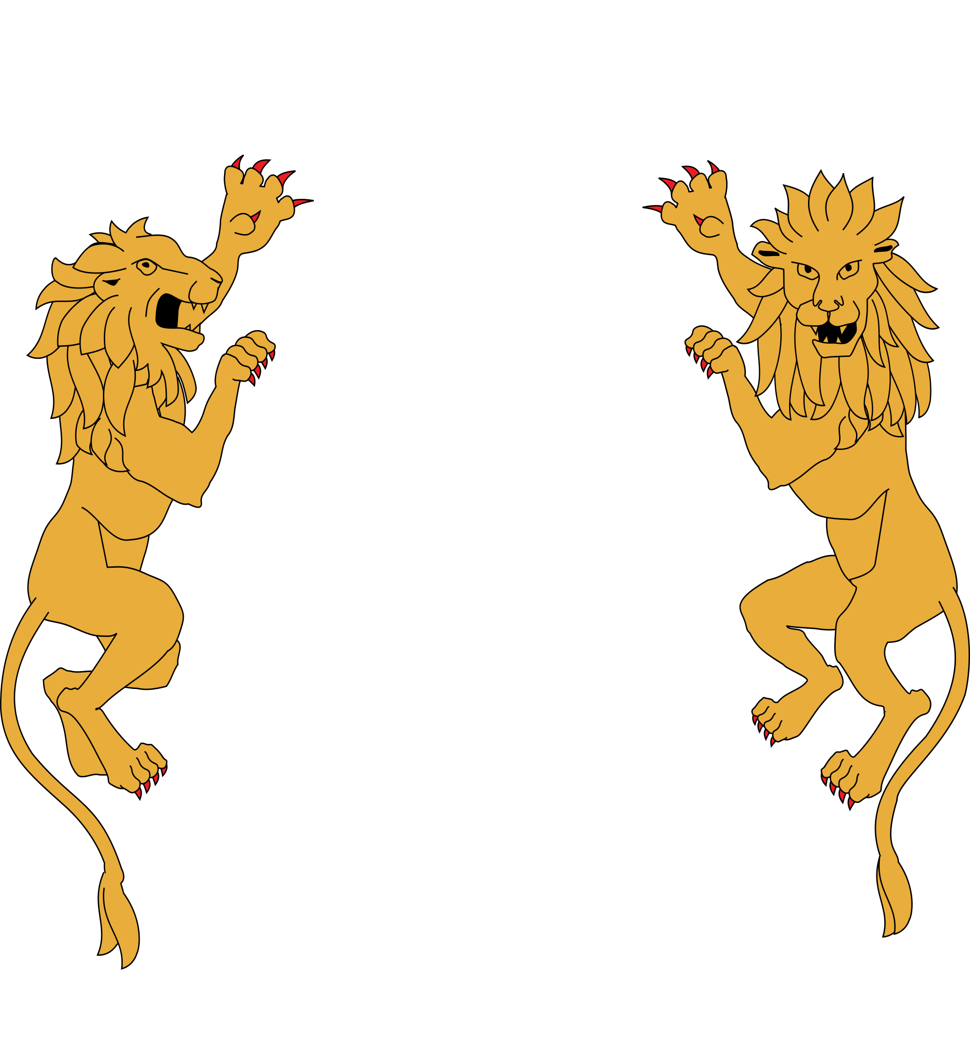 Lion coat of arms png. File morocco supporters svg