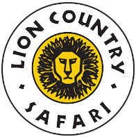 Lion country safari logo png. Home of the drive