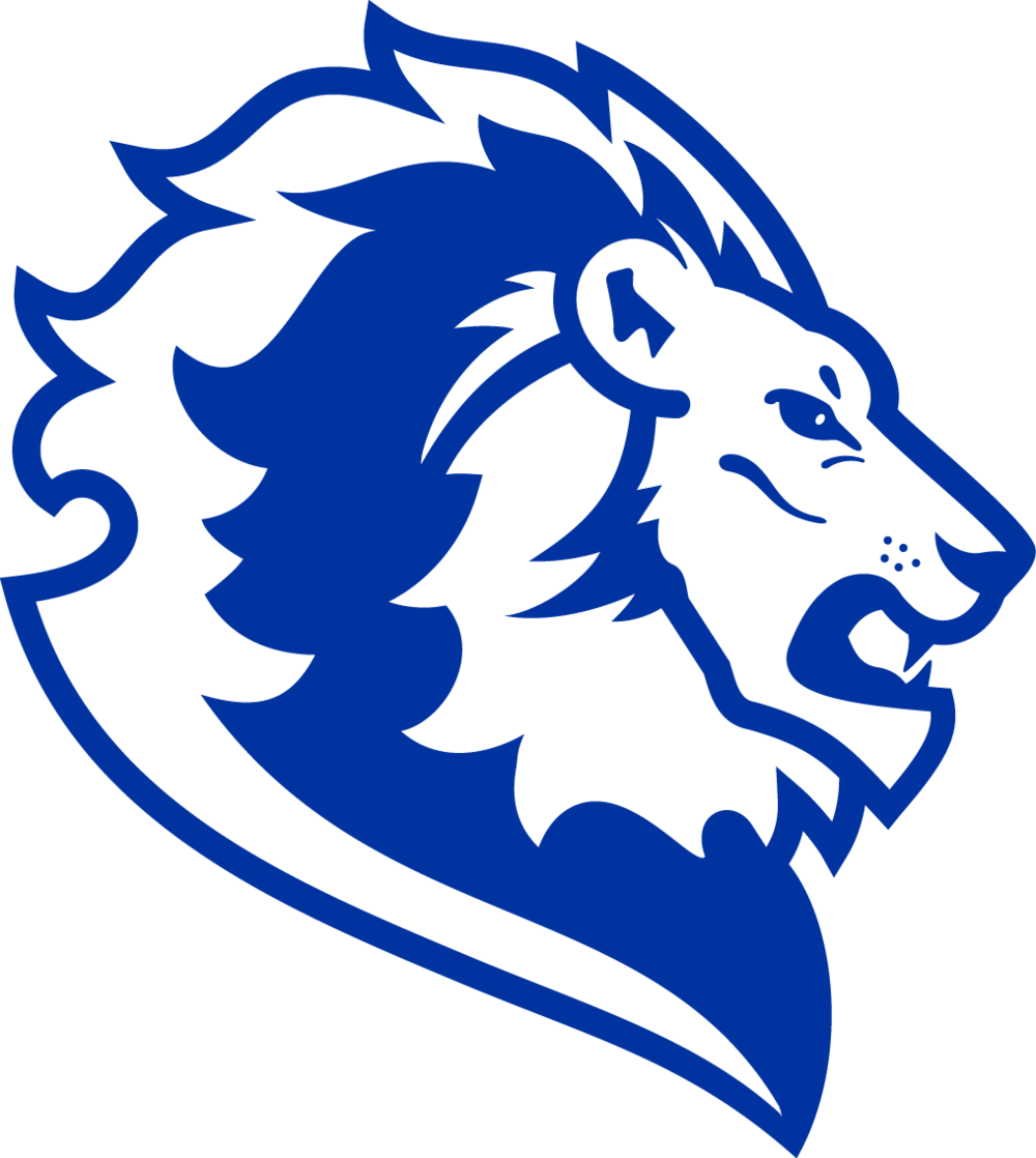 Lion head logo png. Blue free icons and