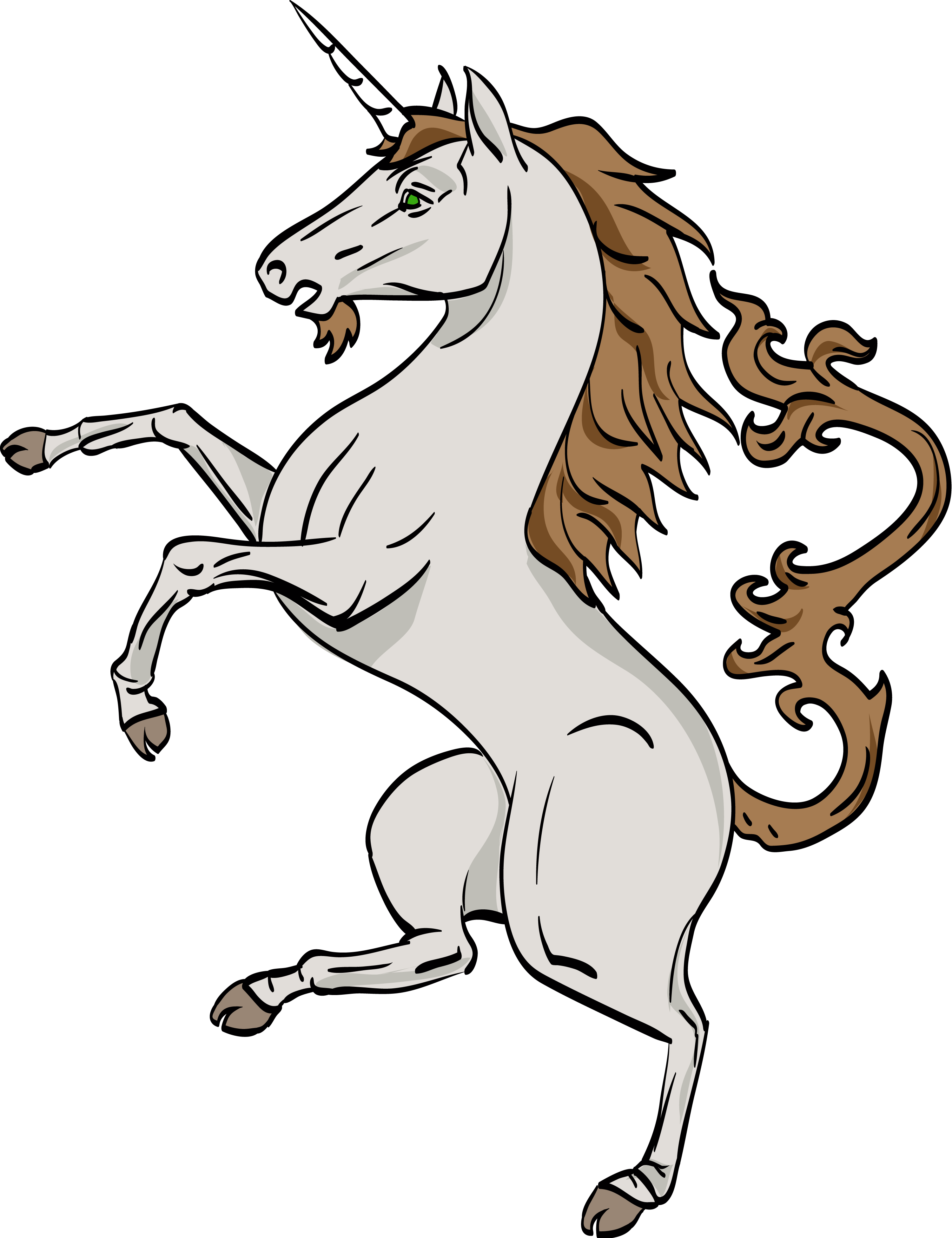 Lion head with unicorn horn png. Scotland s clipart clipground
