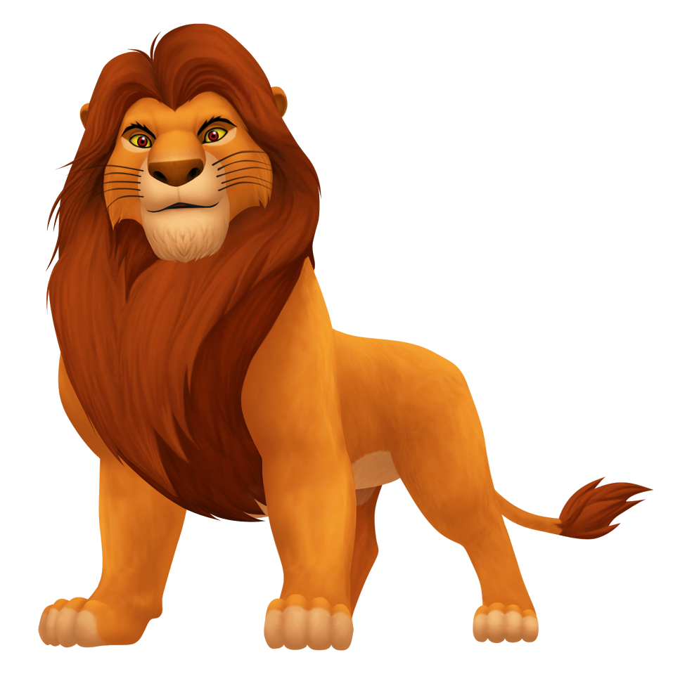 Lion king characters png. Image mufasa video game