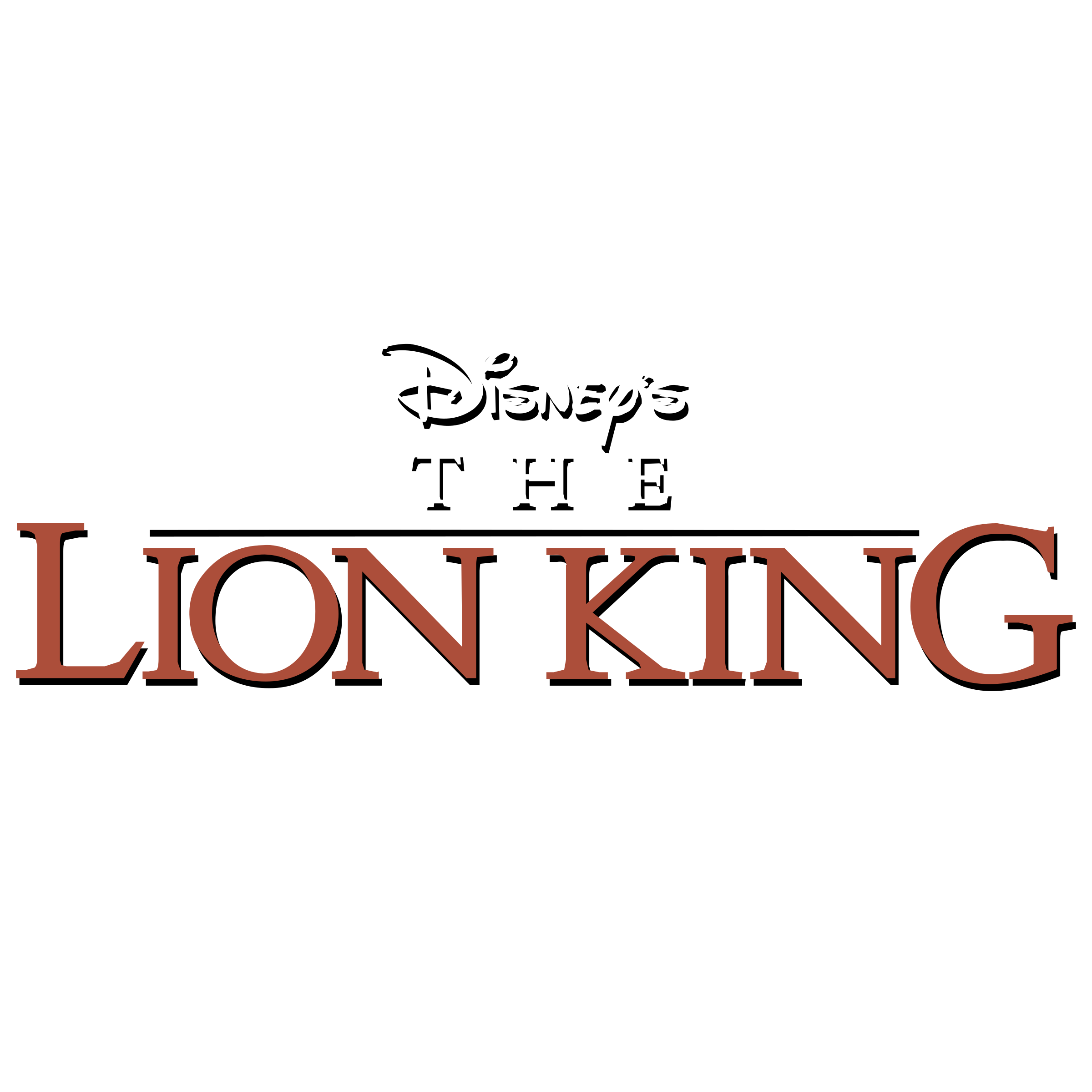 Lion king logo png. Disney s the transparent