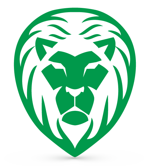 Lion logo design png. Free maker powerful head